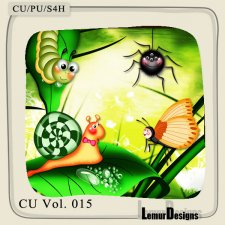 CU Vol 015 Insects by Lemur Designs