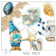 Vol. 0513 Summer Sea Mix by D's Design