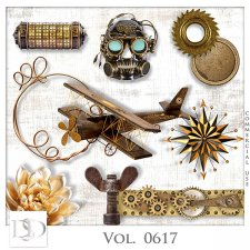 Vol. 0617 Steampunk Mix by D's Design