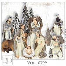 Vol. 0799 Nativity Mix by D's Design