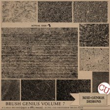 Brush Genius Volume Seven by Mad Genius Designs