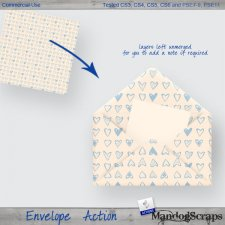 Envelope Actions by Mandog Scraps