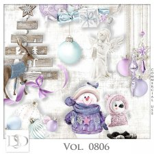 Vol. 0806 Winter Christmas Mix by D's Design