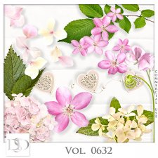 Vol. 0632 Nature Floral Mix by D's Design