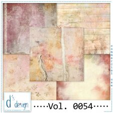 Vol. 0053 to 0055 Vintage Papers by Doudou Design