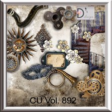 Vol. 892 Steampunk Mix by Doudou Design