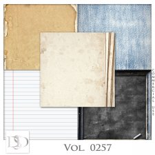Vol. 0257 School Papers by D's Design