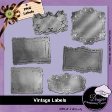 Vintage Labels by Boop Designs