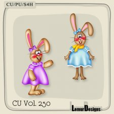 CU Vol 250 Easter Elements Pack 6 by Lemur Designs