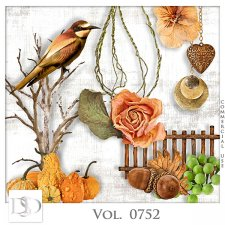 Vol. 0752 Autumn Nature Mix by D's Design