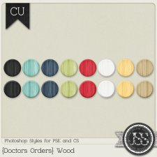 Doctors Orders Wood PS Styles by Just So Scrappy