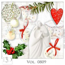 Vol. 0809 Winter Christmas Mix by D's Design