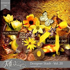 Designer Stash Vol 20 - CU by Feli Designs