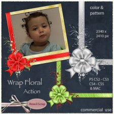 Action - Wrap Floral by Rose.li