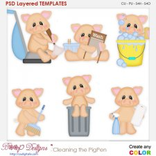 Cleaning the Pig Pen Layered Element Templates
