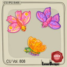 CU Vol 808 Butterfly by Lemur Designs