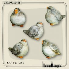 CU Vol 387 Birds by Lemur Designs