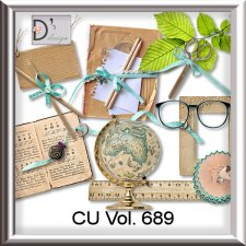 Vol. 689 School Mix by Doudou Design
