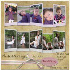 Action - Photo Montage by Rose.li
