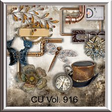Vol. 916 Steampunk Mix by Doudou Design