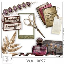 Vol. 0697 Vintage Mix by D's Design