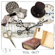 Vol. 0677 Vintage Mix by D's Design