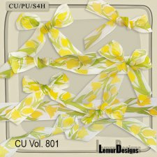 CU Vol 801 Bows by Lemur Designs