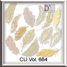 Vol. 664 Feathers by Doudou Design
