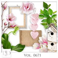 Vol. 0671 Nature Floral Mix by D's Design