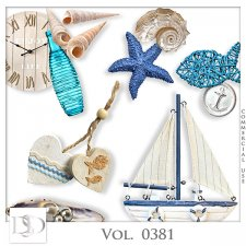 Vol. 0381 Sea Mix by D's Design