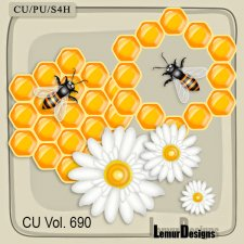 CU Vol 690 Honey by Lemur Designs