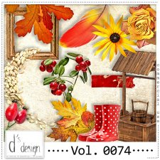 Vol. 0074 Autumn Nature Mix by Doudou Design