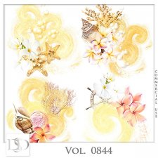 Vol. 0844 Sea/Summer Accents by D's Design