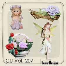 CU Vol 207 Fairies by Lemur Designs