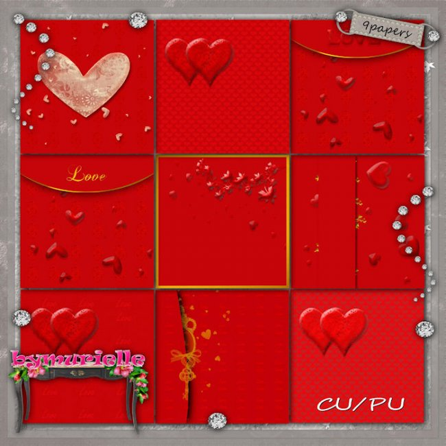 PAPERS Vol 105 Valentine Day EXCLUSIVE byMurielle