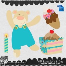 Roandy's Birthday Layered Template by Peek a Boo Designs