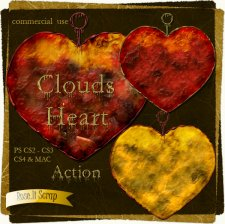 Action - Clouds Heart by Rose.li
