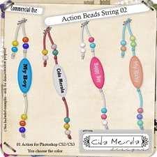 Beads String 02 Action by Cida Merola
