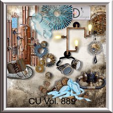 Vol. 889 Steampunk Mix by Doudou Design