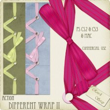 Action - Different Wrap II by Rose.li