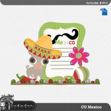 Mexico Layered Template by Peek a Boo Designs