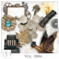 Vol. 0884 Steampunk Mix by D's Design