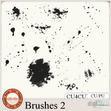 Brushes 2 CU4CU by Happy Scrap Arts