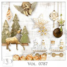 Vol. 0787 Winter Christmas Mix by D's Design