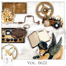 Vol. 0622 Steampunk Mix by D's Design