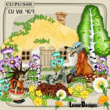 CU Vol 469 Summer Forest by Lemur Designs