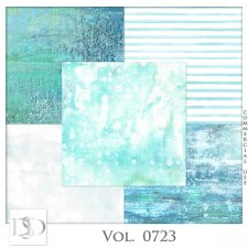 Vol. 0723 Summer Sea Papers by D's Design