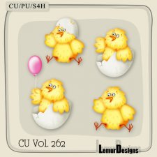 CU Vol 262 Easter Elements Pack 9 by Lemur Designs