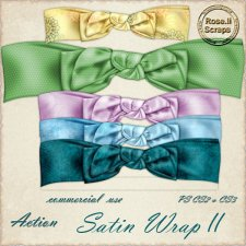 Action - Satin Wrap II by Rose.li