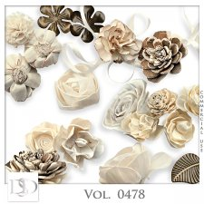 Vol. 0478 Floral Mix by D's Design